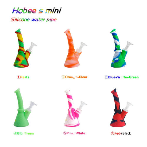 Waxmaid Waxmaid Hobee S MINI Silicone Beaker Base Water Pipe - Assorted Colors