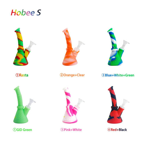 Waxmaid Waxmaid Hobee S Silicone Beaker Base Water Pipe - Assorted Colors