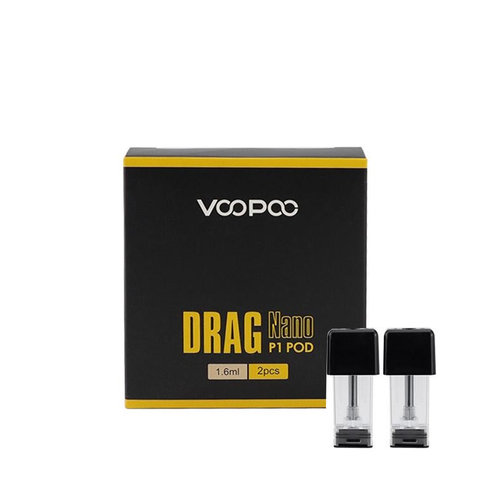 Voopoo VooPoo Drag Nano P1 Replacement Pods 1.6ML