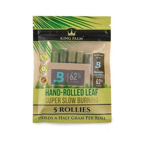 King Palm King Palm - Rollies 5pk w/ Boveda