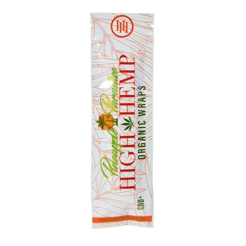 High Hemp High Hemp Organic Wraps Pineapple Paradise Herbal Wraps