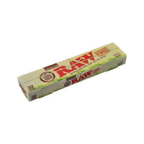 RAW RAW Classic Organic Hemp Pre-Roll Cones 32pc