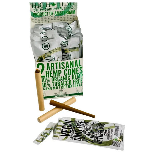 High Hemp High Hemp Organic Artisanal Cones - 2 Pack