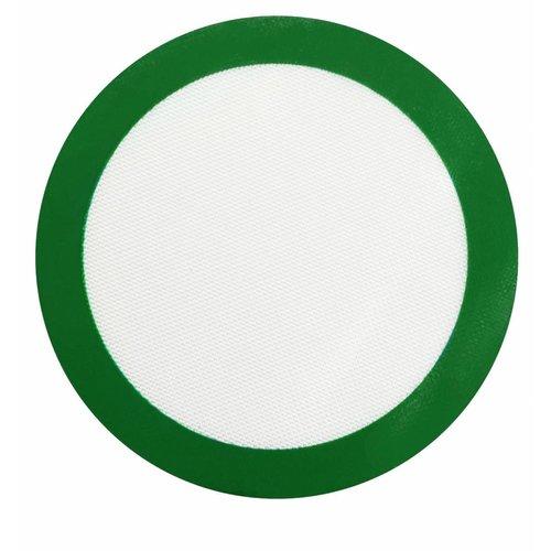 Silicone Non-Stick Mat - Green Small Round