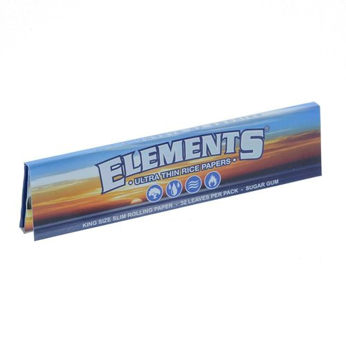 Elements ELEMENTS ULTRA RICE PAPER KING SIZE SLIM ROLLING PAPERS