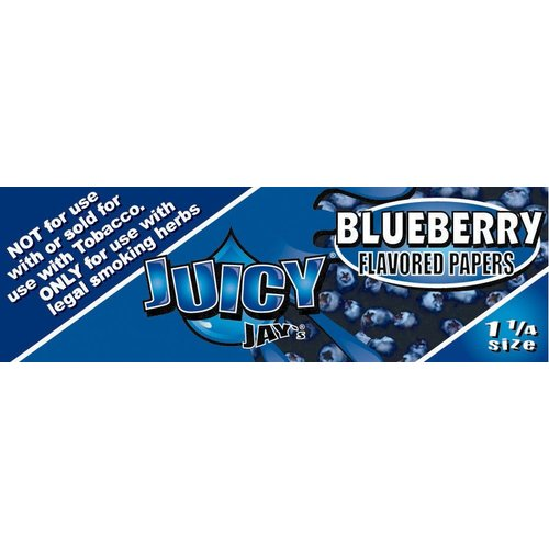 Juicy Jays JUICY JAYS BLUEBERRY 1 1/4 ROLLING PAPERS