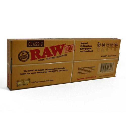 RAW RAW CLASSIC 98mm Special PRE-ROLLED CONES 20pk