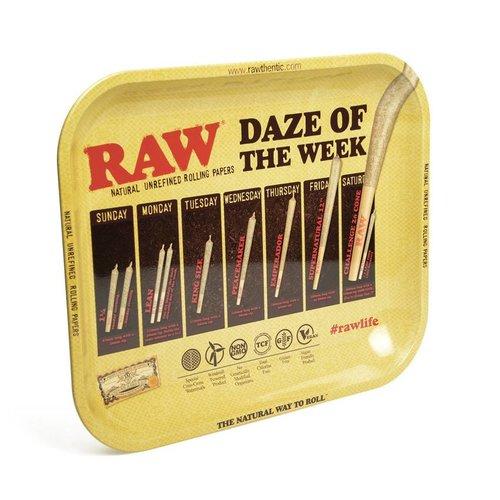 RAW RAW Daze Metal Rolling Tray
