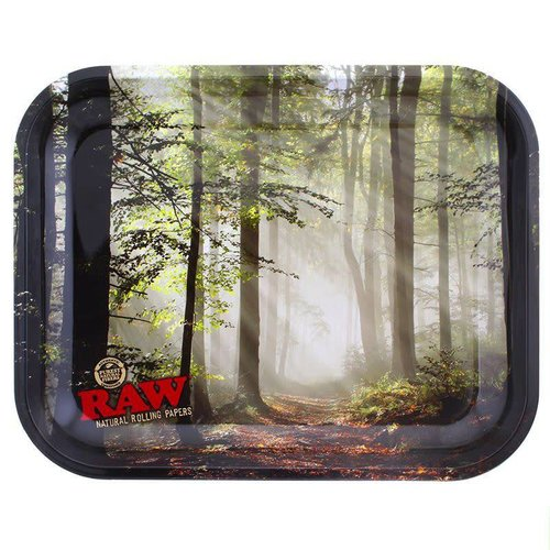 RAW RAW Forest Metal Rolling Tray
