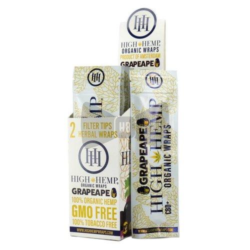 High Hemp High Hemp GrapeApe Herbal Wraps