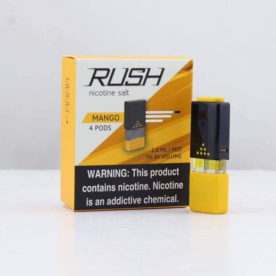 Rush Salt Nictoine Pods