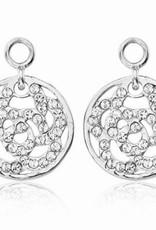 Nikki Lissoni Nikki Lissoni 'Sparkling Flower' Earring Coins - EAC2006S
