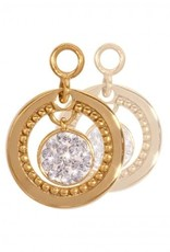Nikki Lissoni Nikki Lissoni 'Vintage Dangle' Gold Earring Coins - EAC2014G