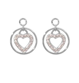 Nikki Lissoni 'Love Keeper' Silver Earring Coins