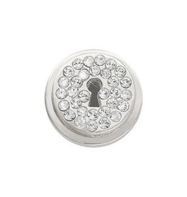 Nikki Lissoni Lock-y You' Silver Ring Coin