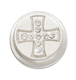 Nikki Lissoni 'Celtic Cross' Silver Ring Coin