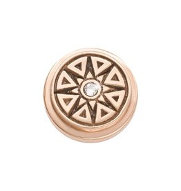 Nikki Lissoni A New Star is Born' Rose Gold Ring Coin