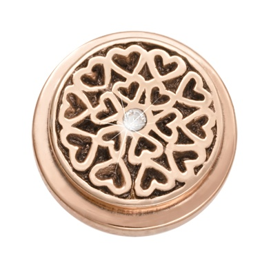 Nikki Lissoni Nikki Lisosni 'Hearts All Over' Ring Coin - RC2015RG