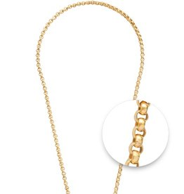 "Nikki Lissoni 19"" Gold Plated Necklace"
