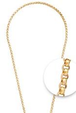 "Nikki Lissoni Nikki Lissoni 32"" Gold Plated Necklace"