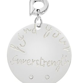 Nikki Lissoni Find Your Inner Strength' 25mm Charm