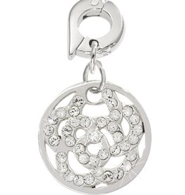 Nikki Lissoni 'Sparkling Flower' 15mm Charm
