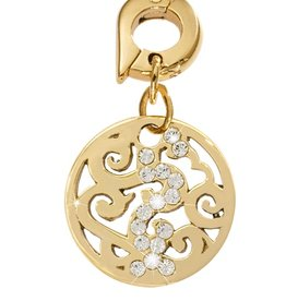 Nikki Lissoni 'Baroque' 15mm Gold Charm