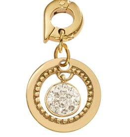 Nikki Lissoni 'Vintage' 15mm Gold Charm