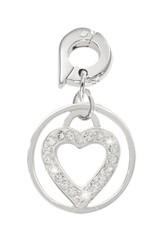 Nikki Lissoni 'Love Keeper' 15mm Silver Charm