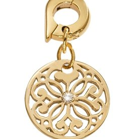 Nikki Lissoni 'Baroque Fantasy' 15mm Gold Charm