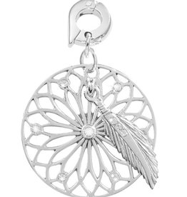 Nikki Lissoni 'Dreamcatcher' 25mm Silver Charm