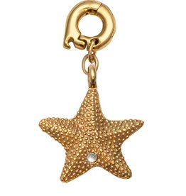 Nikki Lissoni 'Starfish' Gold Plated Charm