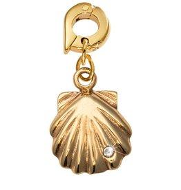 Nikki Lissoni 'Seashell' 20mm Gold Charm