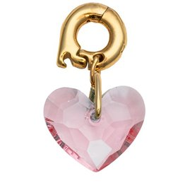 Nikki Lissoni 'Pink Love' Bracelet Charm