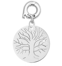Nikki Lissoni 'Wisdom Tree' 20mm Silver Charm