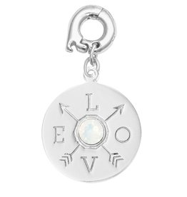 Nikki Lissoni 'Show Me Your Love' 20mm Silver Charm