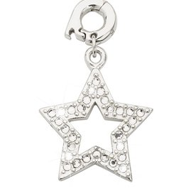 Nikki Lissoni Rock Star' 20mm Silver Charm