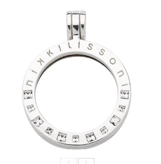 Nikki Lissoni Nikki Lissoni Small Silver Coin Pendant