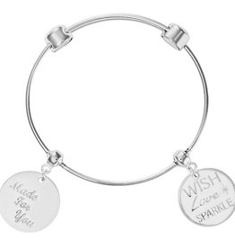 Nikki Lissoni 'Made for You' Charm Bangle