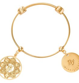 Nikki Lissoni Symbol of Ohm Charm Bangle