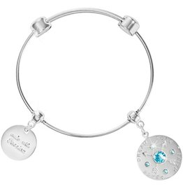 Nikki Lissoni 'Made with Passion Silver Bangle