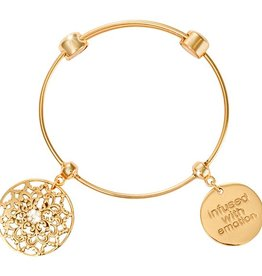 Nikki Lissoni 'Infused with Emotion' Charm Bangle * Full title  Nikki Lissoni 'Infused with Emotion' Charm Bangle - B1092G19 * Description