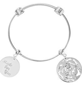 Nikki Lissoni Made for You' & Rose Charm Bangle