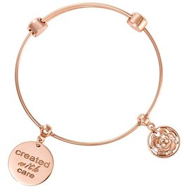 Nikki Lissoni 'Created with Care' Charm Bangle