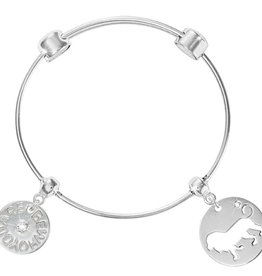 Nikki Lissoni 'Be Who You Are' & Lion Charm Bangle
