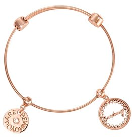 Nikki Lissoni 'Loving- Little Hearts' Charm Bangle