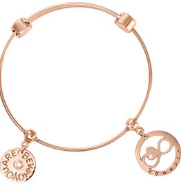 Nikki Lissoni 'Honesty' & 'Be Who You Are' Charm Bangle
