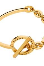 "Nikki Lissoni 7"" Gold Bracelet & Bangle Combo"
