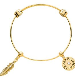 Nikki Lissoni 'Be Who You Are' Charm Bangle