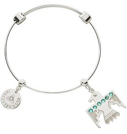 Nikki Lissoni Soar Like an Eagle Charm Bangle